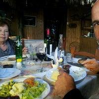 Photo taken at restaurant los cantaros, La granja educativa by Viviana T. on 7/13/2013