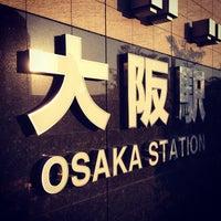 Photo taken at Osaka Station by Ryusuke K. on 6/16/2013