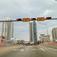 Photo taken at 63rd Street Draw Bridge by CB G. on 3/12/2013