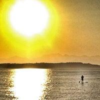Photo taken at Alki Beach Park by Doug on 5/8/2013