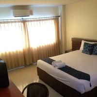 Photo taken at Poonsuk Resident Hotel by 💞🍭🍫🍒Ying😎💑💕 on 5/4/2014
