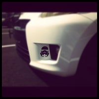Photo taken at Johnstons Toyota by Marissa on 9/16/2012