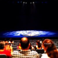 Photo taken at University Cultural Centre Theatre by yeohyc on 9/15/2012