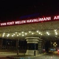 Photo taken at Van Ferit Melen Airport (VAN) by Mehmet G. on 7/24/2013