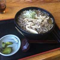 Photo taken at そば処 えびす by ecology on 5/19/2017