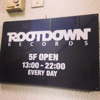 Photo taken at Root Down Records by ecology on 4/13/2014