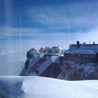 Photo taken at Zugspitze (2962m) by Maxim E. on 3/14/2013