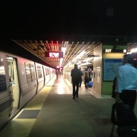 Photo taken at Rockridge BART Station by David H. on 3/2/2013