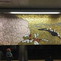 Photo taken at MTA Subway - 77th St (6) by David H. on 3/7/2017