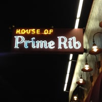 Photo taken at House of Prime Rib by David H. on 10/13/2012
