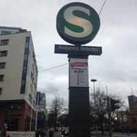 Photo taken at S Anhalter Bahnhof by Alla on 11/4/2013