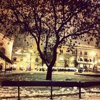 Photo taken at Fővám tér by Edina G. on 1/14/2013