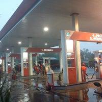Photo taken at SPBU Pertamina by Asef D. on 10/17/2012
