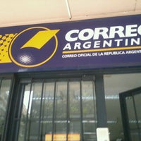 Photo taken at Correo Argentino by Mony C. on 9/17/2012