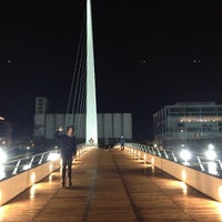 Photo taken at Puerto Madero by Alexandre S. on 4/10/2013