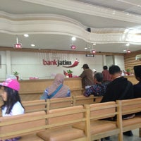 Photo taken at Bank Jatim by Benny A . S D. on 9/19/2013