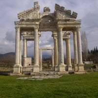 Photo taken at Afrodisias by Murat D. on 1/1/2013