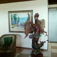 Photo taken at Hotel Pousada do Arcanjo by Morris A. on 2/14/2013
