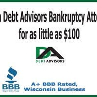 Photo taken at Debt Advisors Law Offices Milwaukee by Debt Advisors Law Offices Milwaukee on 9/18/2014