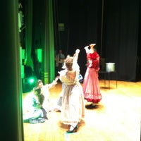 Photo taken at Teatro Accademico by Federica on 6/21/2014