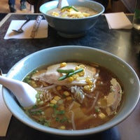 Photo taken at Toshi's Ramen by Alethea S. on 4/13/2013