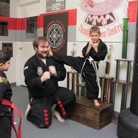 Photo taken at Steve stewarts Modern Martial Arts by Event P. on 11/12/2016