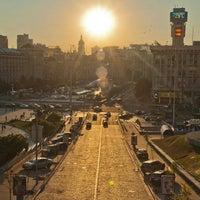 Снимок сделан в Майдан Незалежности пользователем Bikemn 7/9/2013