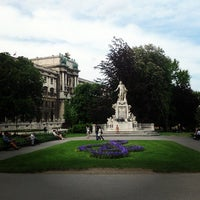Photo taken at Burggarten by Кристина on 5/16/2013