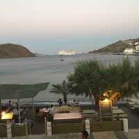 Photo taken at Tzivaeri Restaurant Patmos by Vassilis 🎗 D. on 7/25/2016