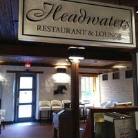 Photo taken at Headwaters Restaurant at Millcroft Inn & Spa by David H. on 4/12/2016