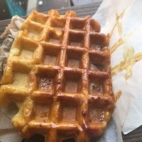Photo taken at Waffle Cabin by Michael P. on 7/15/2017