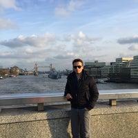 Photo taken at London Bridge City Pier by Azmİ R. on 12/1/2017