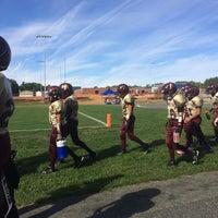Photo taken at Herbert J. Saunders Middle School by Nicole on 9/14/2014