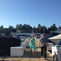 Photo taken at Yachta Yachta Yachta Yacht Charters of Lake Norman by Holli on 9/14/2013