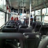 Photo taken at onibus by Viviane M. on 3/14/2013