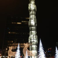 Photo taken at Sergels Torg by vrodekrab on 12/30/2012