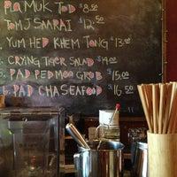 Photo taken at Mee-Sen Thai Eatery by Kellie on 1/16/2013