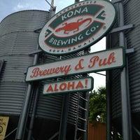 Photo taken at Kona Brewing Co. & Brewpub by Kellie on 12/20/2012