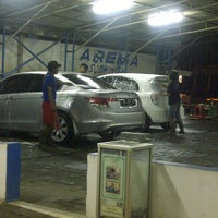 Photo taken at Arema Car Wash by dindindince on 4/4/2013