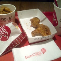 Photo taken at BonChon Chicken by dindindince on 7/21/2013