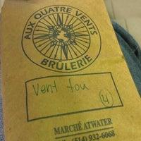 Photo taken at Brûlerie aux Quatre-Vents by Mélanie C. on 1/20/2013