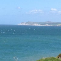 Photo taken at Cap Gris Nez by Falsa on 5/9/2013