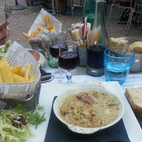 Photo taken at Brasserie du Nord by Romain K. on 8/7/2014