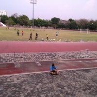 Photo taken at Main Stadium by Supakrit C. on 2/23/2017