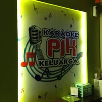Photo taken at Karaoke PIK Keluarga by Cook O. on 11/10/2012