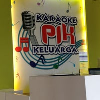 Photo taken at Karaoke PIK Keluarga by Cook O. on 2/14/2013