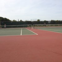 Photo taken at Andrew P Hill Tennis Courts by Alexander D. on 3/15/2013