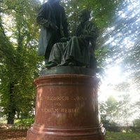 Photo taken at Gauß-Weber Memorial by Ruben M. on 9/6/2014