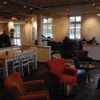 Photo taken at Balzac Coffee by Ruben M. on 1/20/2013