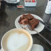 Photo taken at Bourbon Coffee by N↑↓←→ on 10/5/2012